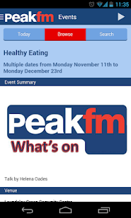 Peak FM Radio - screenshot thumbnail