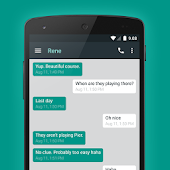 EvolveSMS Theme Android L2