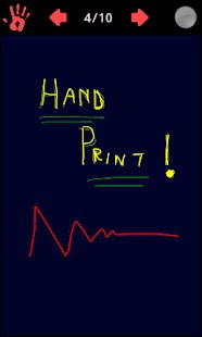 HandPrint Notepad- screenshot thumbnail