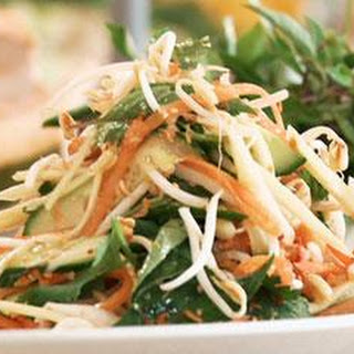 Vietnamese Salad With Nuoc Nam
