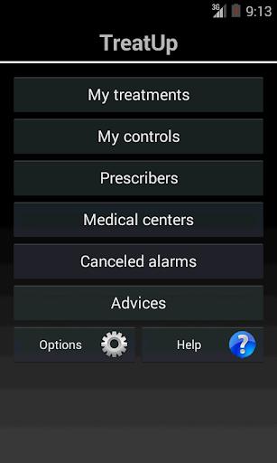 TreatUp med agenda pill remind