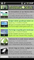 Screenshot of Tabletworld Reader