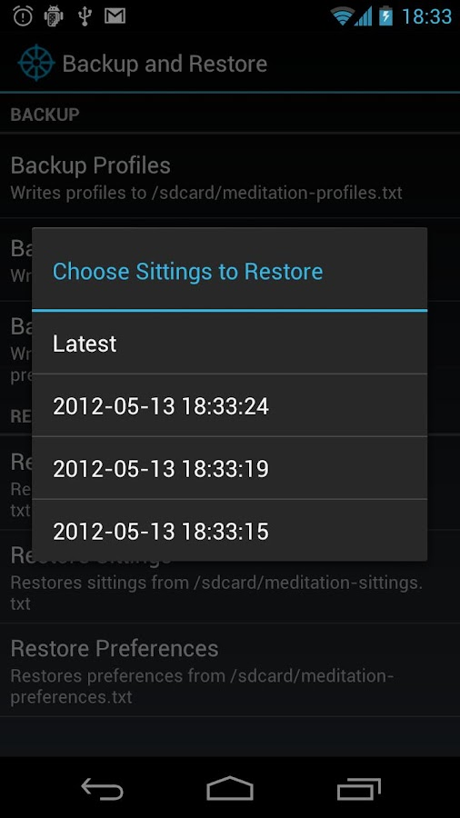 Meditation Helper Pro - screenshot