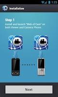 Screenshot of Web of Cam - WiFi Baby Monitor
