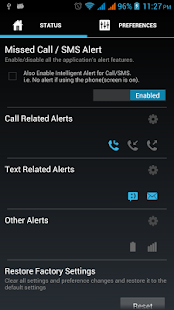 Alert.me Pro Call SMS Email - screenshot thumbnail