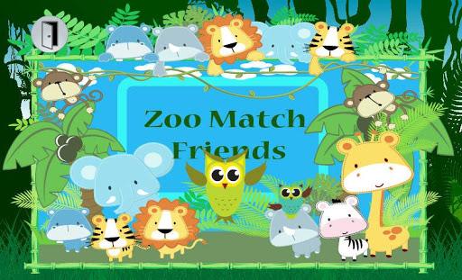 Zoo Match Friends