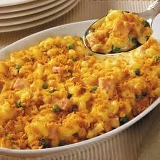Saucy Baked Mac and Cheese.
