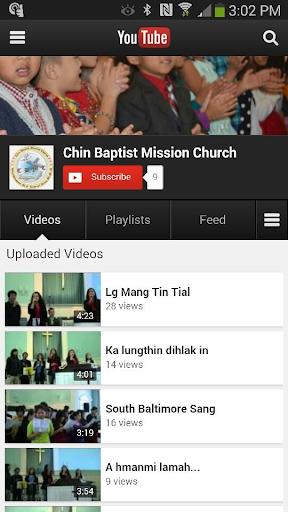 Chin Baptist Mission Church