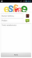 Screenshot of Bramka SMS esfree.pl