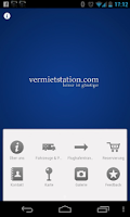 Screenshot of Vermietstation
