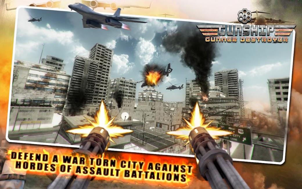 #2. Gunship Gunner Destroyer (Android)