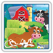 Kids Farm Scratch & Coloring