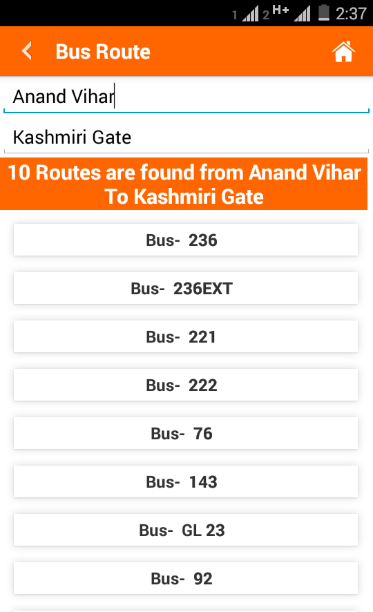 how to read google maps bus routes
