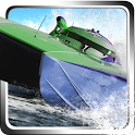 Speed Boat Race 3D Simulation icon