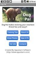 Screenshot of Dog Pal