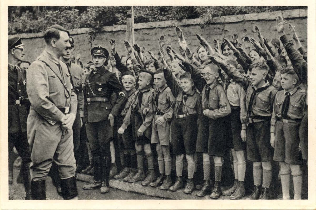 an analysis of the hitler youth movement in germany