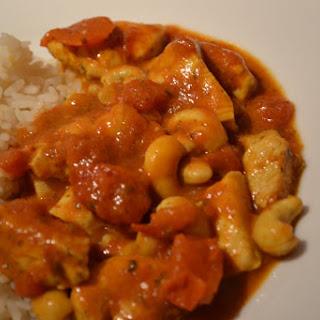 Cashew Nut Chicken Masala