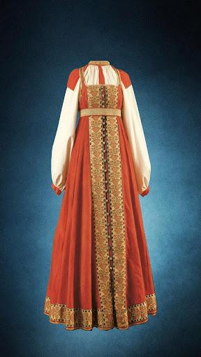 俄羅斯傳統服裝
