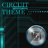 Blue Circuit Theme TSF SHELL