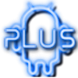 Plus Neon Blue GO Launcher EX