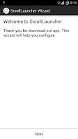 Screenshot of Scroll Launcher (open beta)