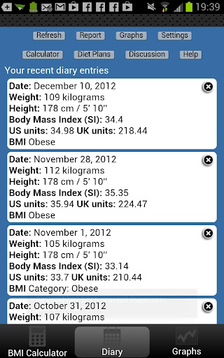 【免費健康App】BMI Calculator Weight Tracker-APP點子