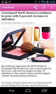CosmeticsDesign- screenshot thumbnail