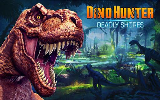 لعبة DINO HUNTER: DEADLY SHORES v1.3.2 (Mod Money) لجوالات الاندرويد
