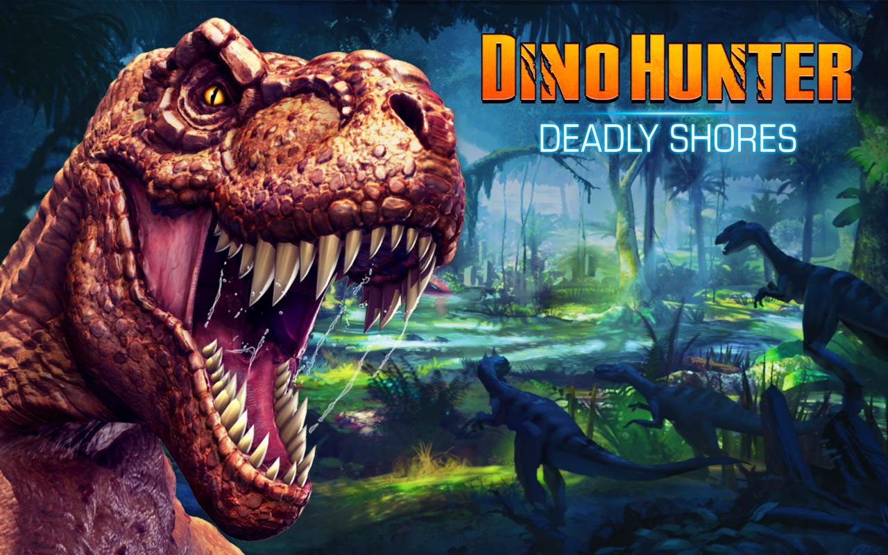 DINO HUNTER: DEADLY SHORES - screenshot