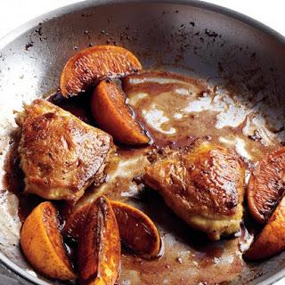 Orange and Balsamic Chicken.