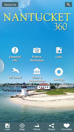 免費旅遊App Nantucket 360 阿達玩APP