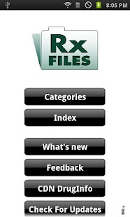 RXFiles - screenshot thumbnail