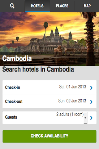 Cambodia Hotels Booking Cheap