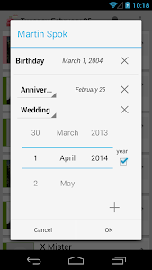 BirthDays screenshot 1