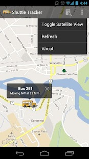 Champlain Shuttle Tracker- screenshot thumbnail