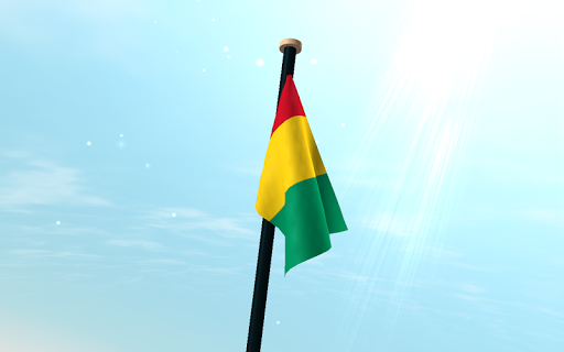 玩個人化App|幾內亞旗3D免費動態桌布免費|APP試玩