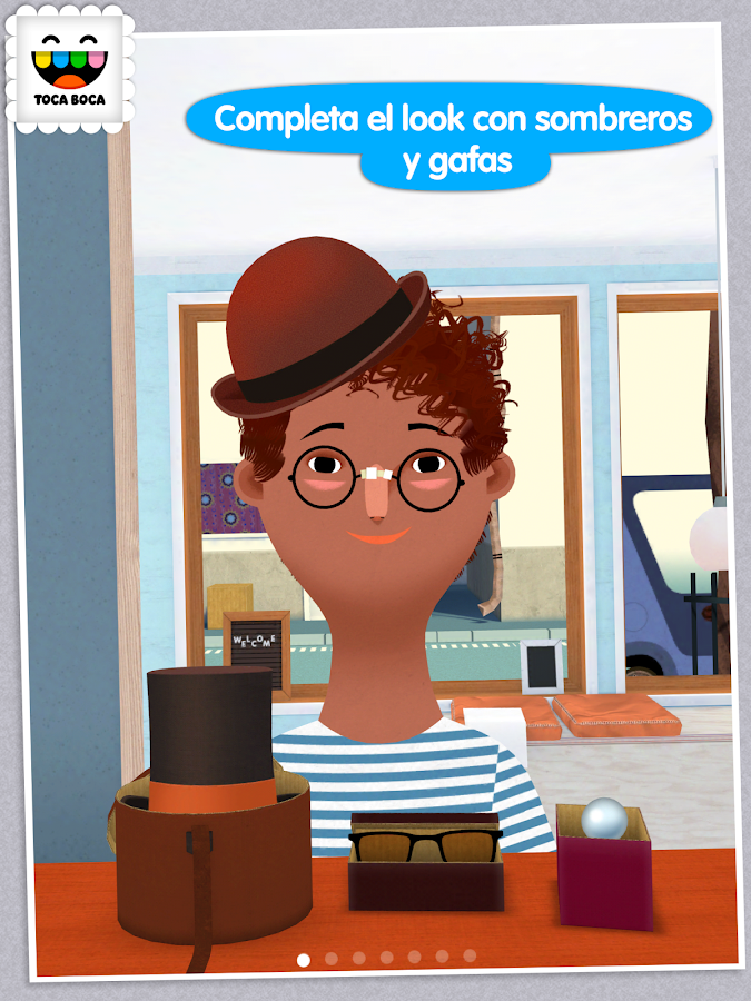 Toca Hair Salon 2: captura de pantalla