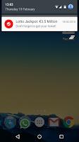 Screenshot of Irish Lottery (Lotto Ireland)