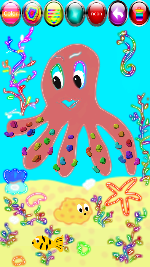 kids draw paint screenshot - Drawing And Painting For Kids