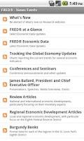 Screenshot of FRED Economic Data