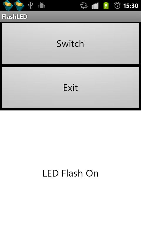 FlashLED- screenshot