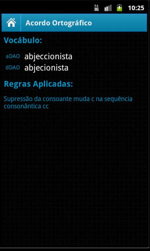 Acordo Ortográfico- screenshot