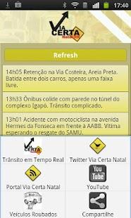 Via Certa Natal Trânsito - screenshot thumbnail