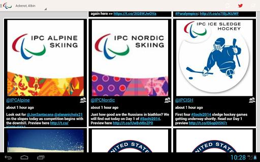 【免費運動App】Sochi Paralympics 2014 Tweets-APP點子