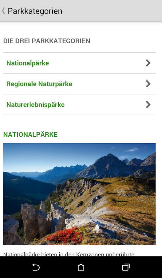 Schweizer Pärke - screenshot