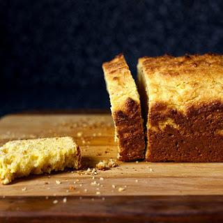 Sour Cream Cornbread with Aleppo.