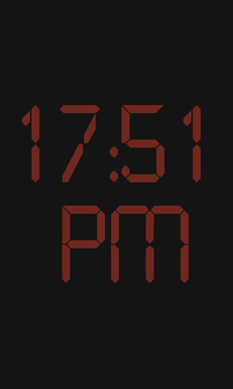 Bedside Clock- screenshot