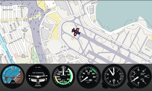 FlightGearMap- screenshot thumbnail