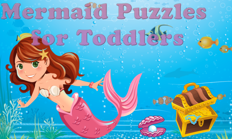 Mermaid Puzzles for Toddlers- screenshot