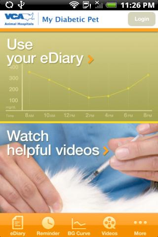 Diabetes eDiary